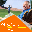 WIN Free golf lessons with Butch Harmon!